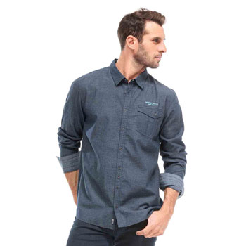 07-FORPA-Chemise-chemisier-manches-longues-homme-bleu-denim-1