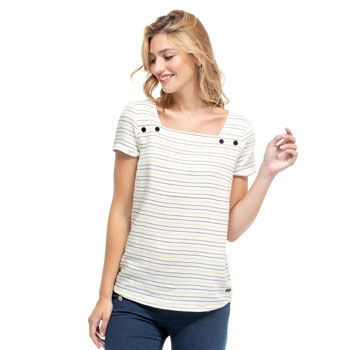 1-CHD304301-ANYO-Blouse-manches-courtes-femme-raye-1