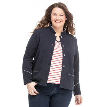 4-MATOR-Veste-manches-longues-grande-taille-marine-1