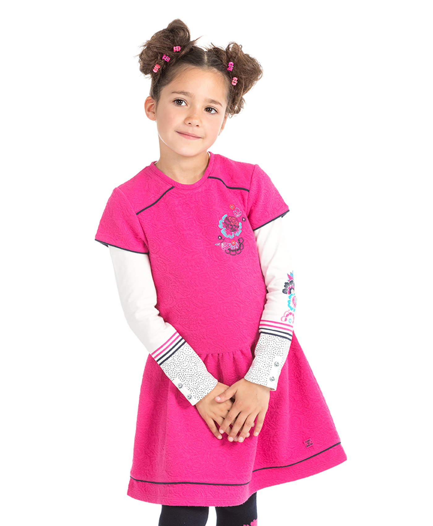 Robe patineuse fille - Mode marine Bonnes affaires