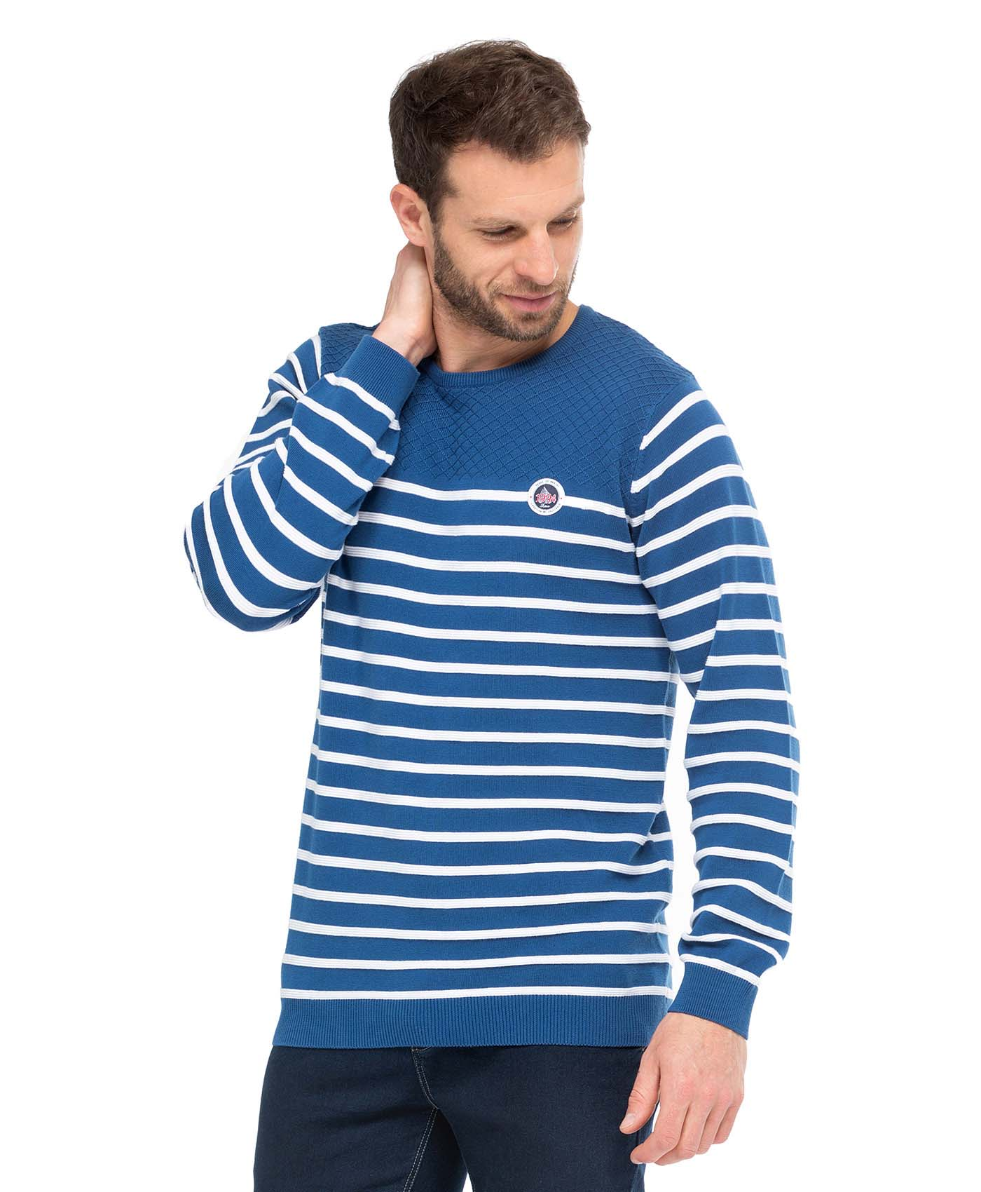 Pull homme   - Mode marine Homme