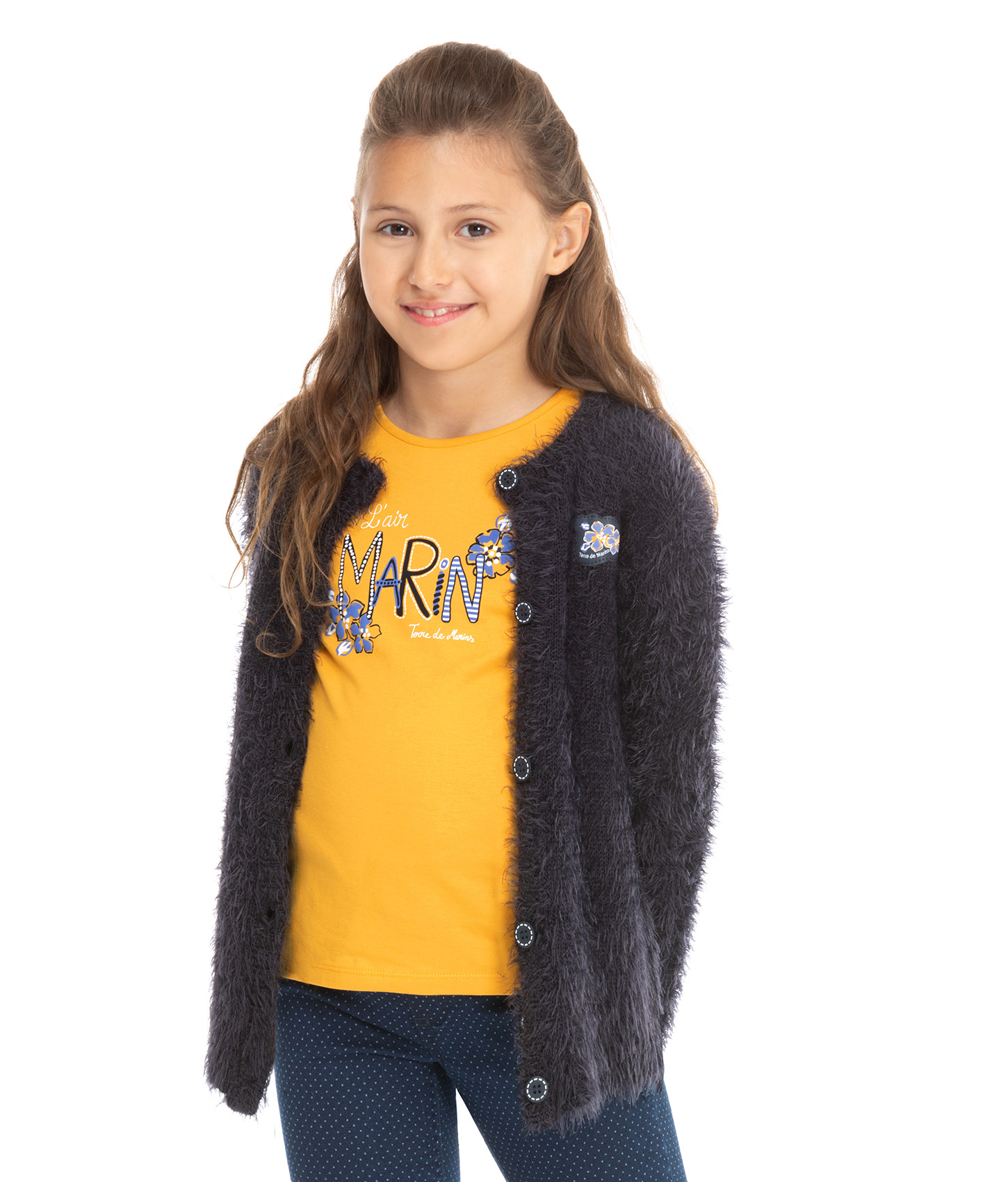 Cardigan fille - Mode marine Enfant