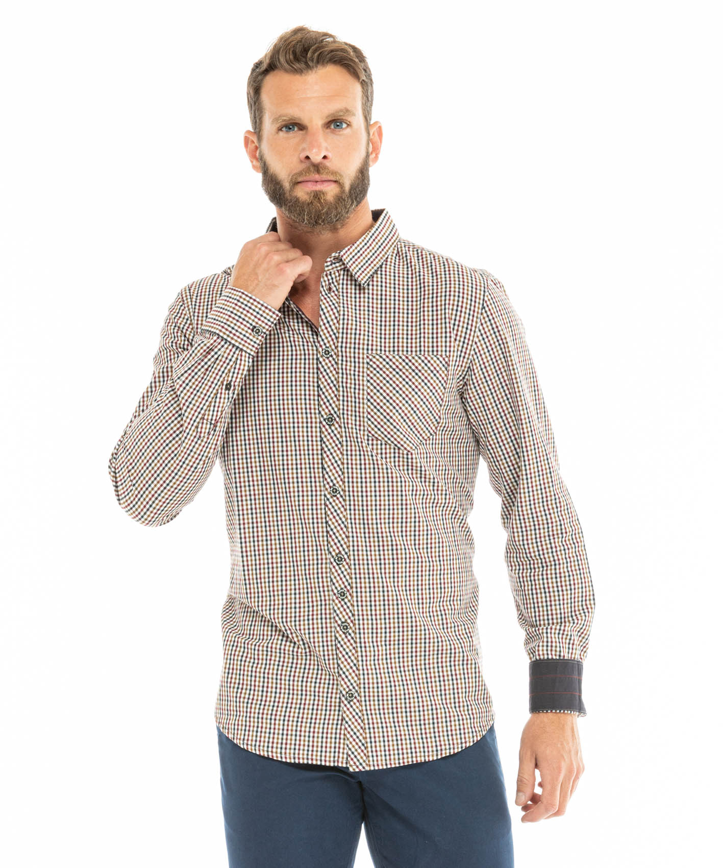 Chemise manches longues homme_0
