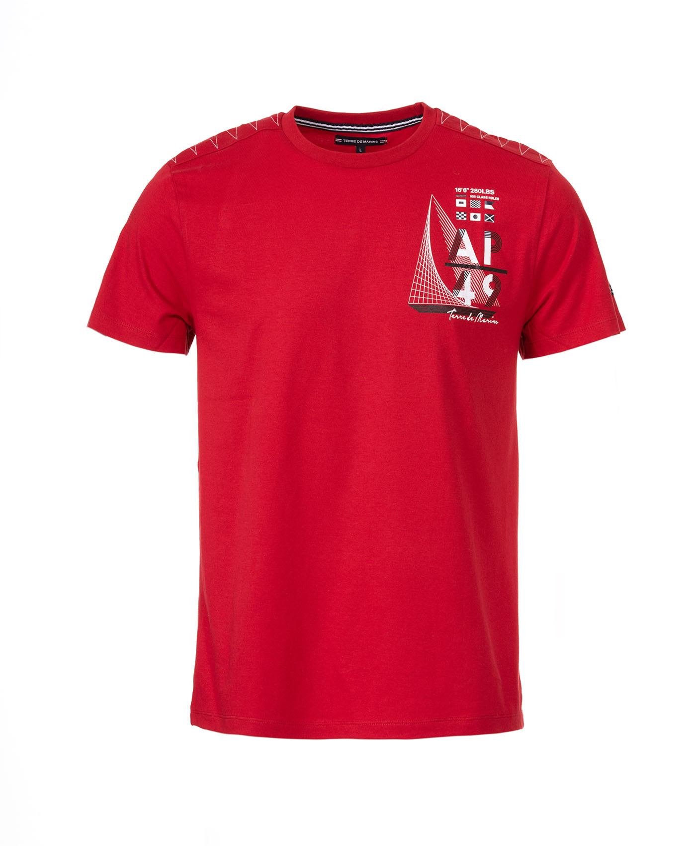Tee shirt manches courtes homme - Mode marine Sélections