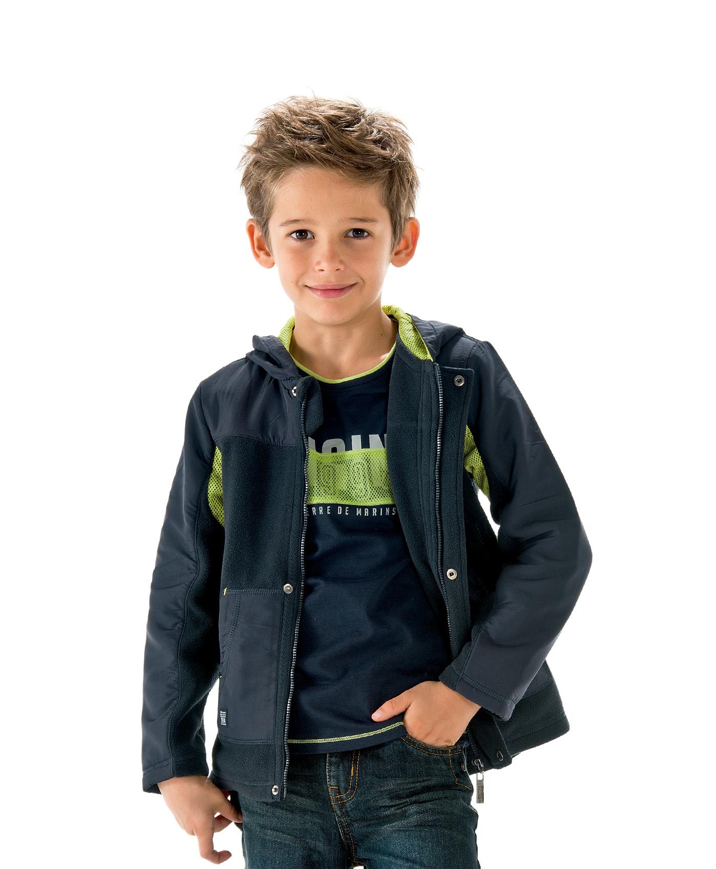 veste gar on marine veste blouson manteau mode enfant. Black Bedroom Furniture Sets. Home Design Ideas