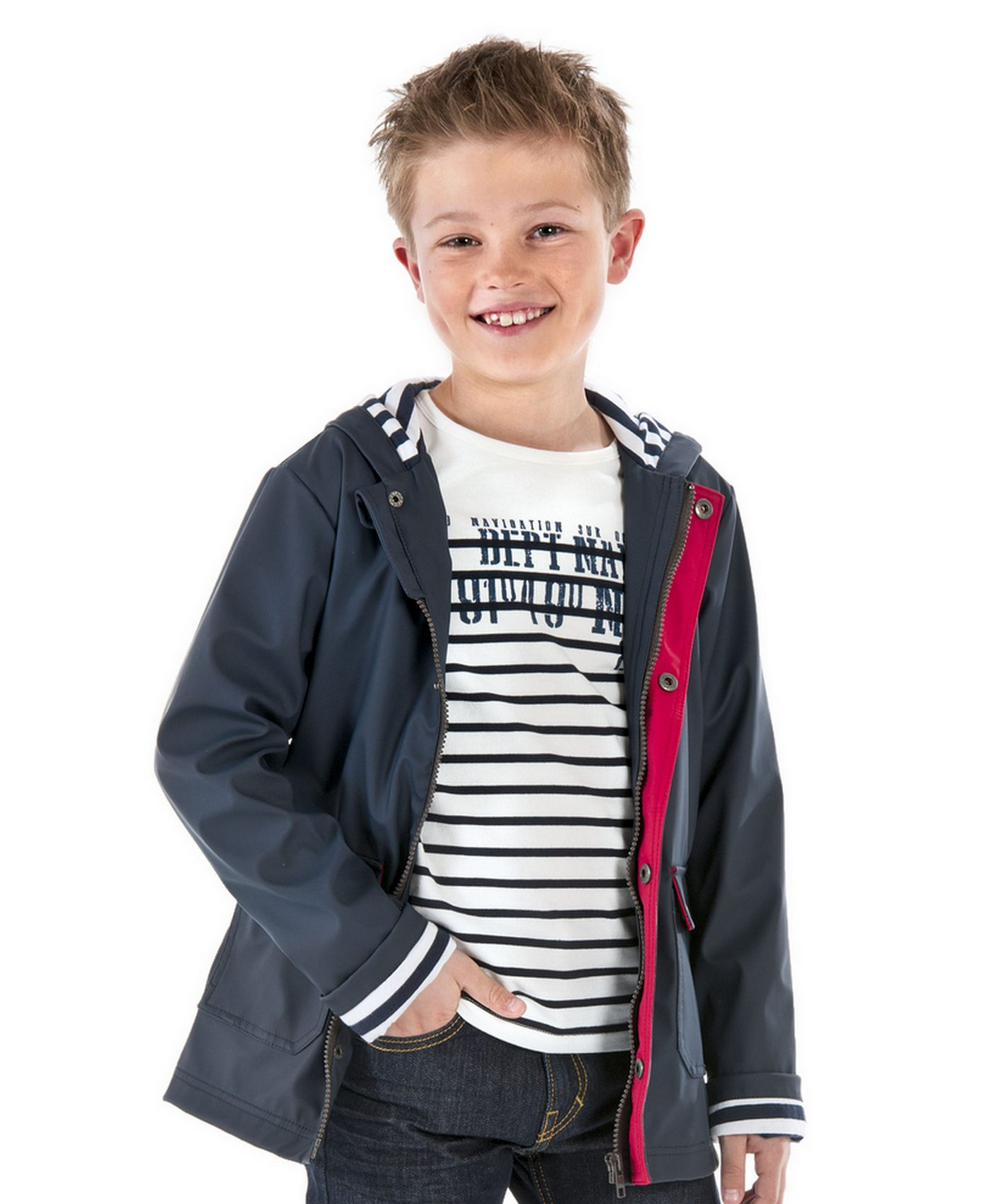 cir gar on marine veste blouson manteau mode enfant. Black Bedroom Furniture Sets. Home Design Ideas