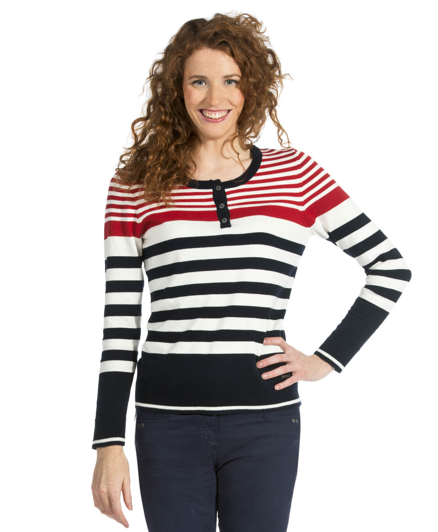 Bien connu Pull femme rayé - Pull, Cardigan Mode Femme Terre de Marins ZH44