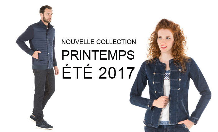 Nouvelle collection printemps été 2017