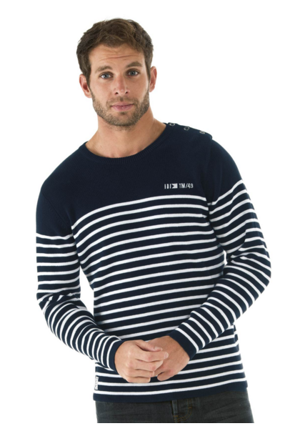 Pull-homme-raye