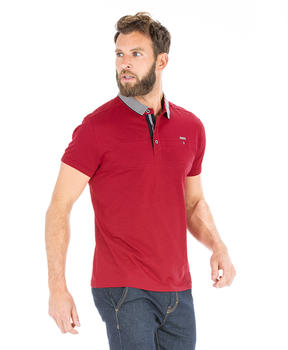 Polo rouge homme - Mode marine Homme