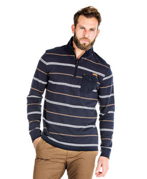 Sweat rayé homme - Mode marine Promotions