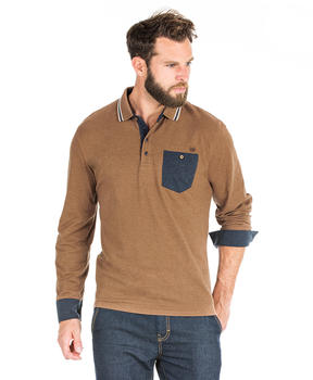 Polo camel homme - Mode marine Homme