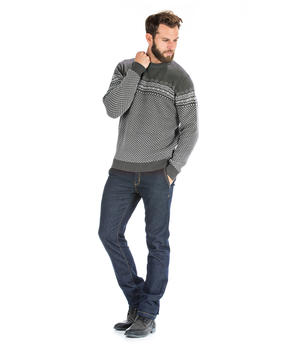 Pull gris homme - Mode marine Homme