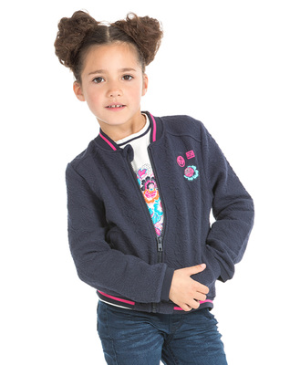 Veste teddy fille - Mode marine Promotions