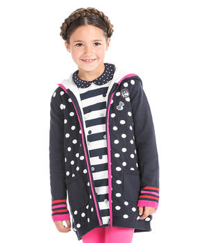 Manteau long fille - Mode marine Enfant