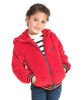 Gilet polaire fille - Mode marine Promotions