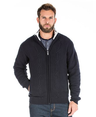 Veste tricot homme - Mode marine Homme