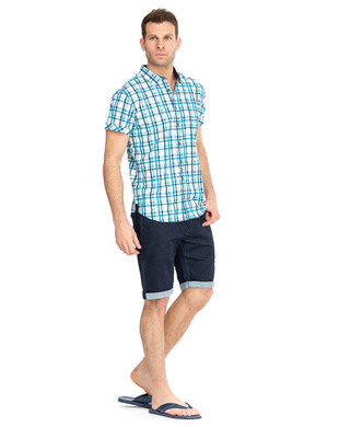 Chemise manches courtes homme  _1