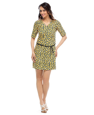 Robe manches courtes femme_1