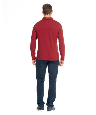 Polo manches longues homme_1
