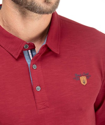 Polo manches longues homme - Mode marine Homme