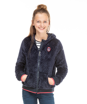 Veste polaire fille junior - Mode marine Enfant