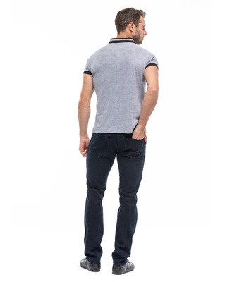 Polo gris homme_1