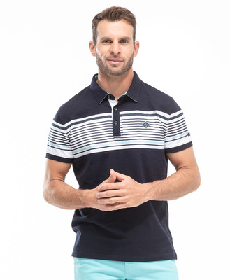 Polo bleu nuit homme - Mode marine Homme