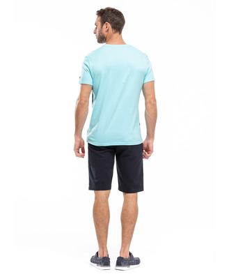 Tee-shirt tricolore homme_1