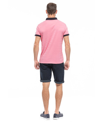 Polo rose homme_1