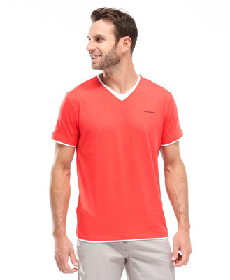 Tee-shirt corail homme - Mode marine Homme