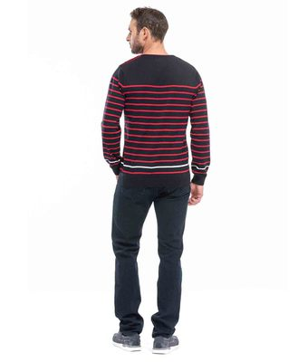 Pull rouge homme - Mode marine Homme