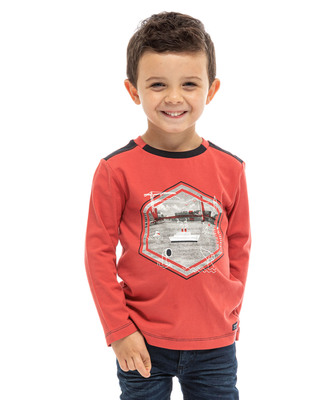 Tee-shirt manches longues enfant - Mode marine FINPromotions