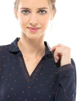 Polo manches longues femme_1