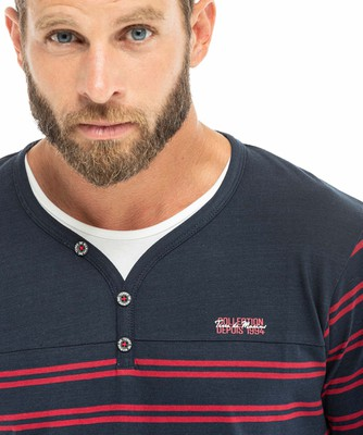 Tee-shirt manches longues homme_1