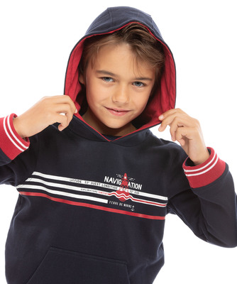 Sweat à capuche enfant_1