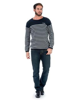 Pull homme rayé - Mode marine Homme
