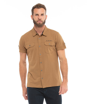 Chemise manches courtes homme - Mode marine FINPromotions