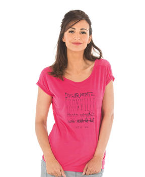 Tee-shirt manches courtes femme rose hibiscus - Mode marine Catalogue Marketplaces
