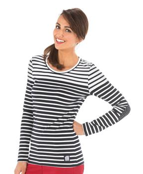 Tee-shirt manches longues femme rayé  - Mode marine Catalogue Marketplaces