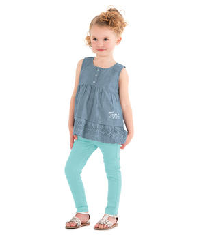 Top fille chambray_1