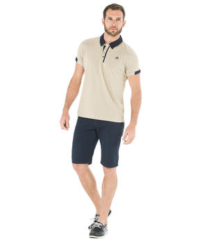 Polo manches courtes homme cailloux_1