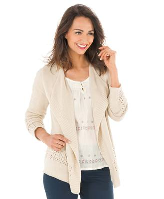 Gilet tricot femme - Mode marine Promotions