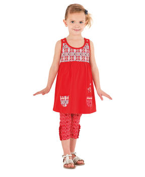 Legging court fille imprimé - Mode marine Enfant fille