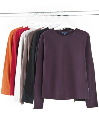 T-shirt manches longues femme - Mode marine Promotions