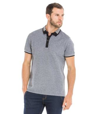 Polo homme Jacquard - Mode marine Homme
