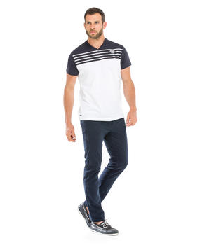 Tee-shirt manches courtes homme bicolore_1