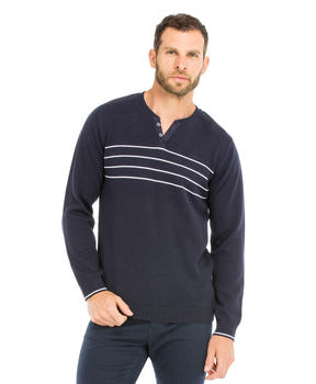 Pull col tunisien homme - Mode marine Homme