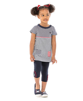 Legging court enfant fille indigo_1