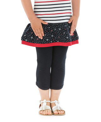 Legging court enfant fille marine - Mode marine Enfant fille